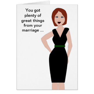 Divorce Support Greeting Card