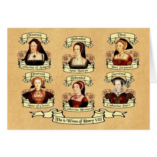 Divorced, Beheaded, DIed... Wives of Henry VIII Card