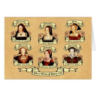 Divorced, Beheaded, DIed... Wives of Henry VIII Greeting Card