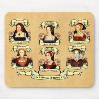 Divorced, Beheaded, DIed... Wives of Henry VIII Mouse Mat