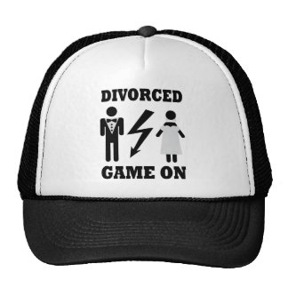 divorced game on icon hats