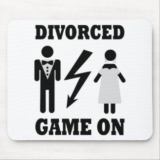 divorced game on icon mouse pad
