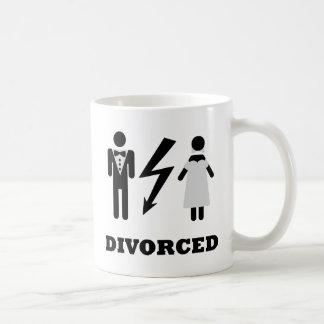 divorced icon basic white mug