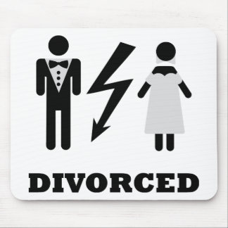 divorced icon mouse pad