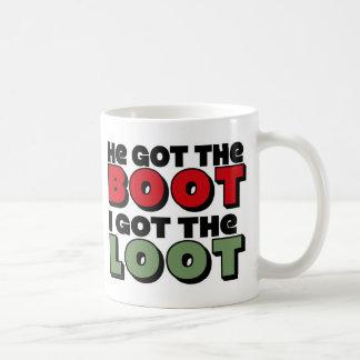Divorced Loot Basic White Mug