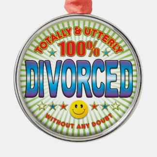 Divorced Totally Christmas Ornament