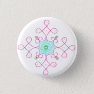 diwali blessings 3 cm round badge