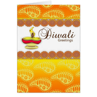 Diwali Card, Happy Diwali Greeting Card