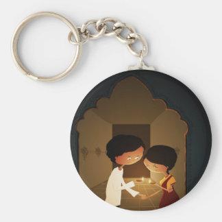Diwali Diya Key Ring