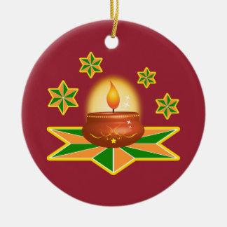Diwali Lantern Christmas Ornament