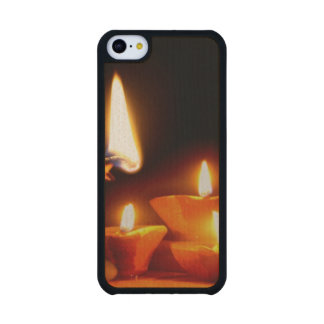Diwali Light Carved® Maple iPhone 5C Case