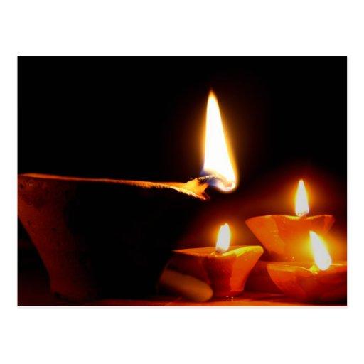 Diwali Light Post Cards