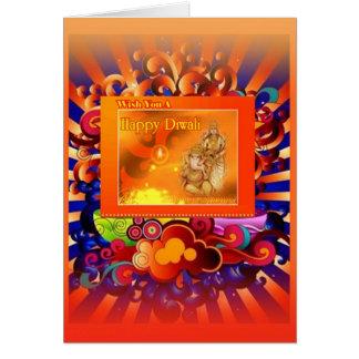 diwali   puja cards