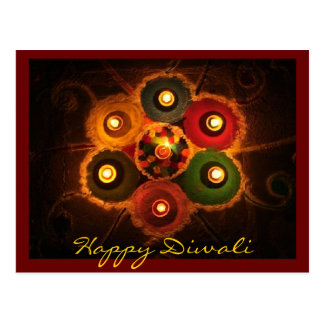 Diwali Rangoli -1 Postcard