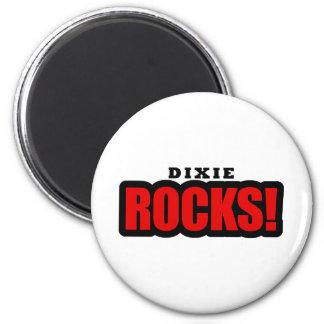 Dixie, Alabama Fridge Magnets