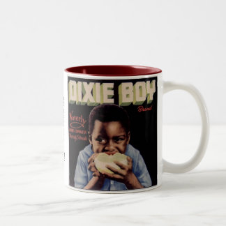 Dixie Boy Fruit Label Two-Tone Mug