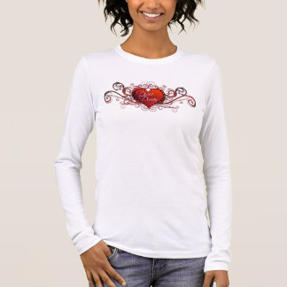 Dixie Divas RC Logo Long Sleeve (white) Long Sleeve T-Shirt