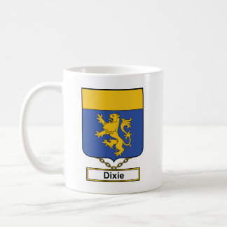 Dixie Family Crest Coffee Mugs