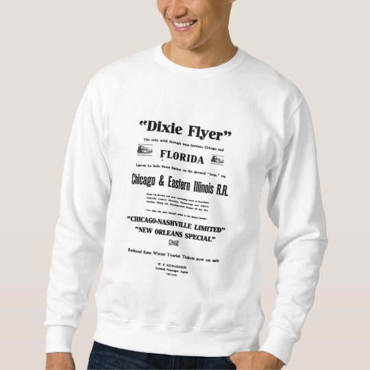 Dixie Flyer Premier Train Service Sweatshirt