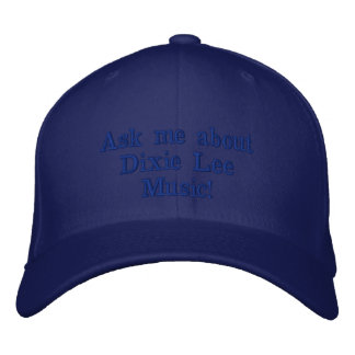 Dixie Lee Music ballcap Embroidered Hat