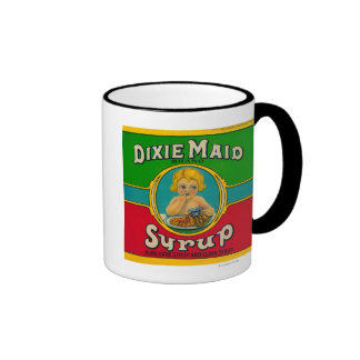Dixie Maid Syrup LabelCairo GA Coffee Mugs