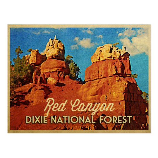 Dixie National Forest Postcard