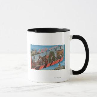 Dixie National Forest, Utah - Large Letter Mug
