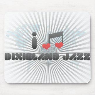 Dixieland Jazz fan Mouse Pads