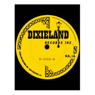 Dixieland Records label Postcard