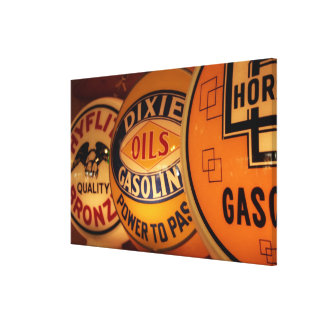 Dixon, New Mexico, United States. Vintage Gallery Wrapped Canvas