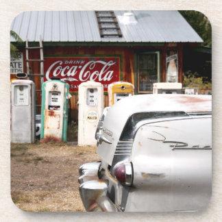 Dixon, New Mexico, United States. Vintage car Coaster