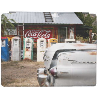Dixon, New Mexico, United States. Vintage car iPad Cover