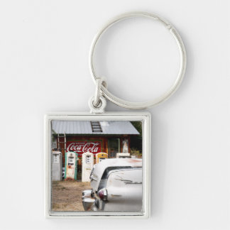 Dixon, New Mexico, United States. Vintage car Key Ring