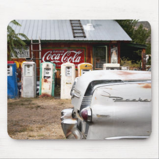 Dixon, New Mexico, United States. Vintage car Mouse Pad