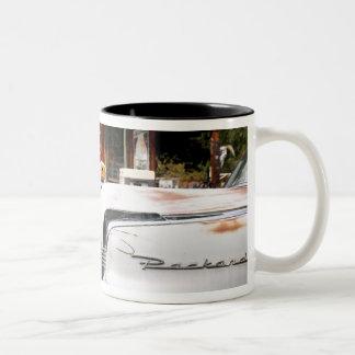 Dixon, New Mexico, United States. Vintage car Two-Tone Coffee Mug