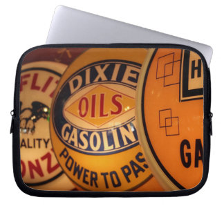 Dixon, New Mexico, United States. Vintage Laptop Sleeve