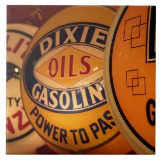 Dixon, New Mexico, United States. Vintage Tile