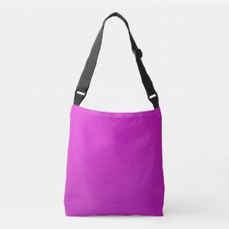 DIY 12 color choices ADD photo text BOTH SIDES Crossbody Bag
