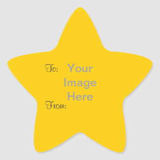 """DIY ~ 1.5"""" Star Gift Tag Stickers"""