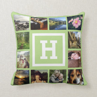 DIY 24 Photos Custom Instagram U Pick Color Cushion