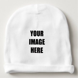 DIY, Add Your Own Image, Your Image here Baby Beanie