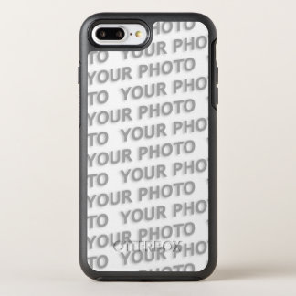 DIY - Add your own sign, photo, name & color OtterBox Symmetry iPhone 8 Plus/7 Plus Case