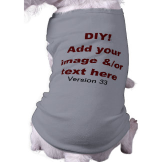 DIY Add Your Own Text and Image Custom V33 Shirt