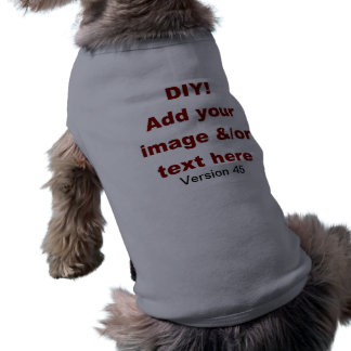 DIY Add Your Own Text and Image Custom V45 Shirt