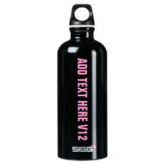 DIY Add Your Own Text Custom Drinkware V12 SIGG Traveller 0.6L Water Bottle