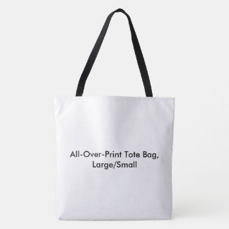 DIY All-Over-Print Tote Bag