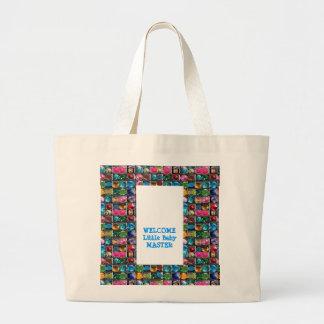 DIY All Purpose GEM Edit Replace Text Image Tote Bag