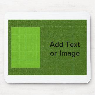 DIY Art Tools - ART101 Green Rich Surfaces Mouse Pad