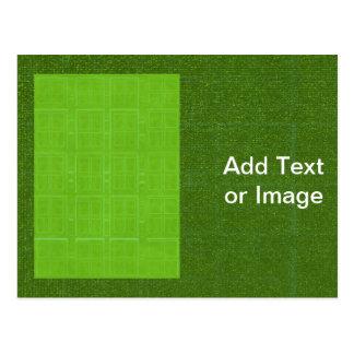 DIY Art Tools - ART101 Green Rich Surfaces Postcard