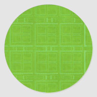 DIY Art Tools - ART101 Green Rich Surfaces Round Sticker